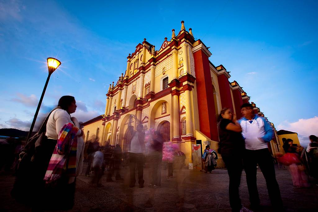 Kathedrale in Oaxaca, Mexiko
