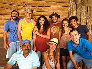 Team der La Tigra Rainforestlodge in Costa Rica