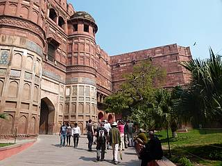 Rotes Fort in Delhi Indien