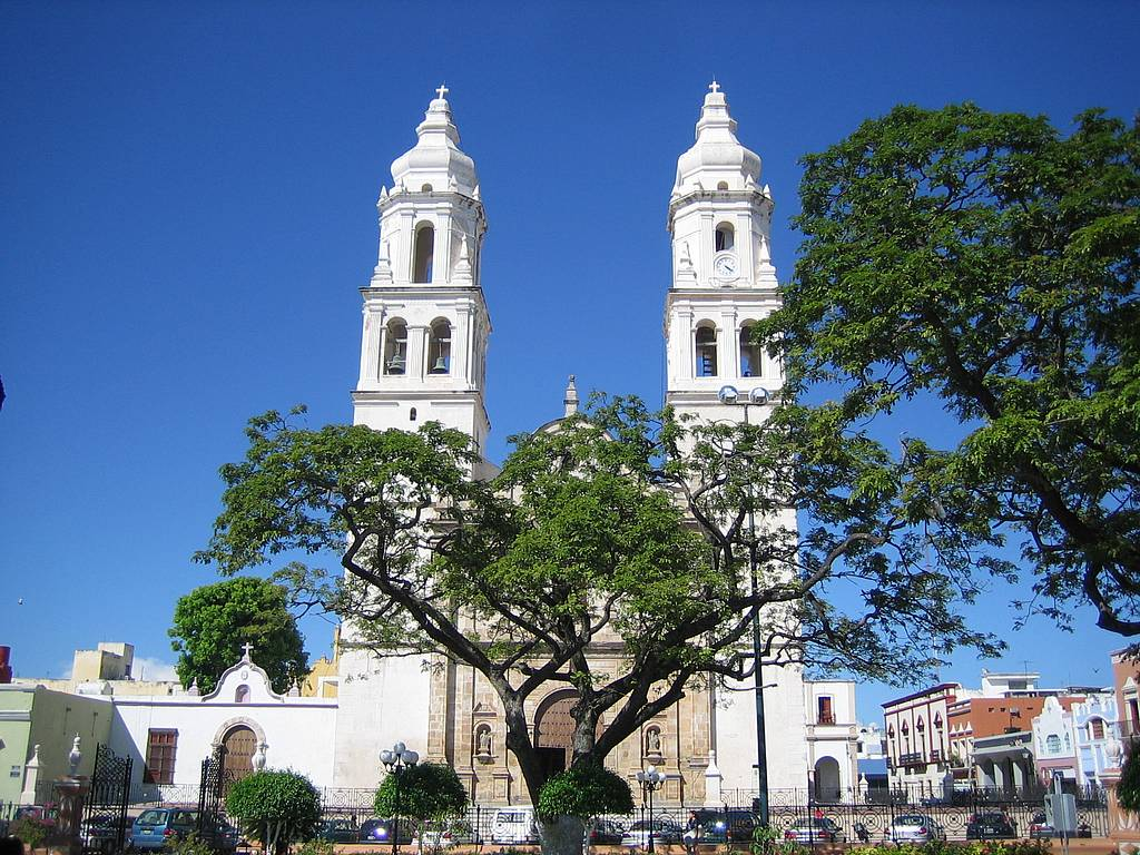 Kathedrale in Campeche, Mexiko