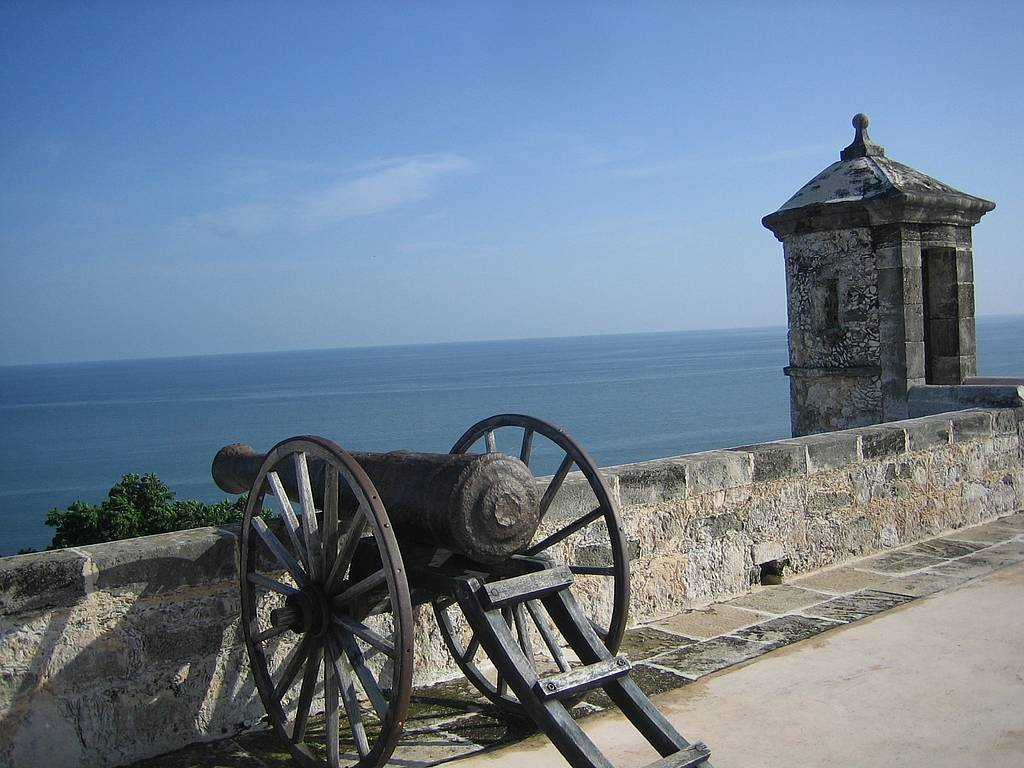 Fort San in Campeche, Mexiko