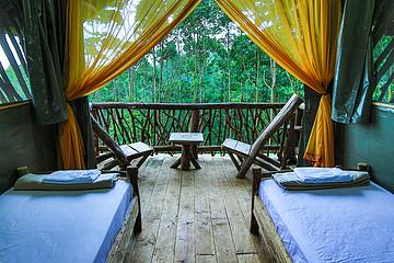 La Tigra Rainforest Lodge Zimmer