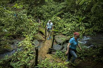 Wanderweg durch La Tigra in Costa Rica